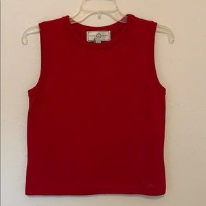 St. John Sport by Marie Gray Gorgeous Red Shirt